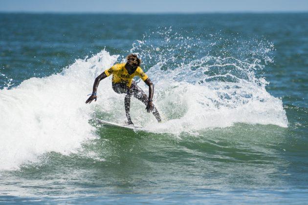 Mbabou Gueye, ISA World Surfing Games 2019, Miyazaki, Japão. Foto: ISA / Ben Reed.