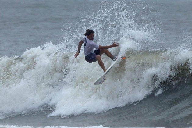 Samuel Alves, Hang Loose Surf Attack 2019, Praia do Tombo, Guarujá (SP). Foto: Munir El Hage.