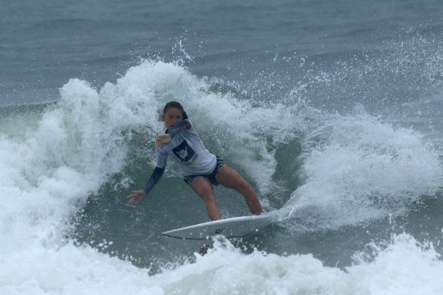 Sophia Gonçalves, Hang Loose Surf Attack 2019, Praia do Tombo, Guarujá (SP). Foto: Munir El Hage.