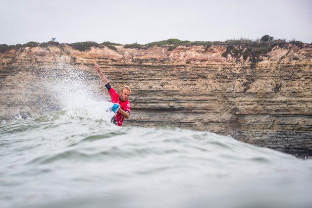 Stuart Kennedy, Billabong Pro Ericeira 2019, Ribeira D'Ilhas, Portugal. Foto: WSL / Poullenot.
