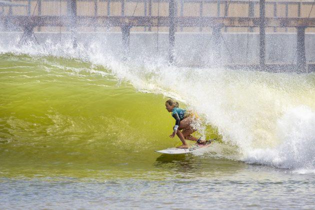 Sally Fitzgibbons, Freshwater Pro 2019, Surf Ranch, Califórnia (EUA). Foto: WSL / Morris.