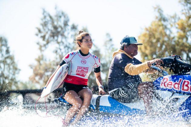 Brisa Hennessy, Freshwater Pro 2019, Surf Ranch, Califórnia (EUA). Foto: WSL / Cestari.