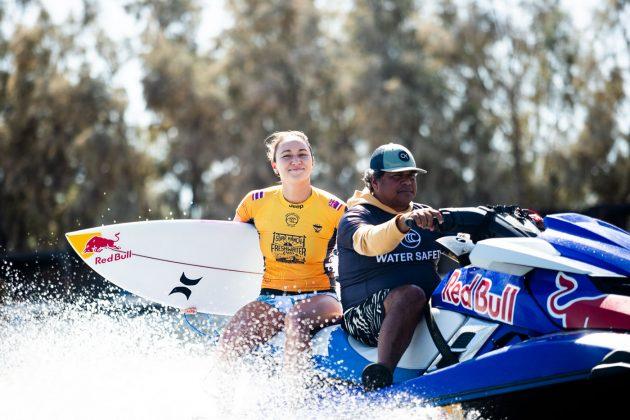 Carissa Moore, Freshwater Pro 2019, Surf Ranch, Califórnia (EUA). Foto: WSL / Cestari.