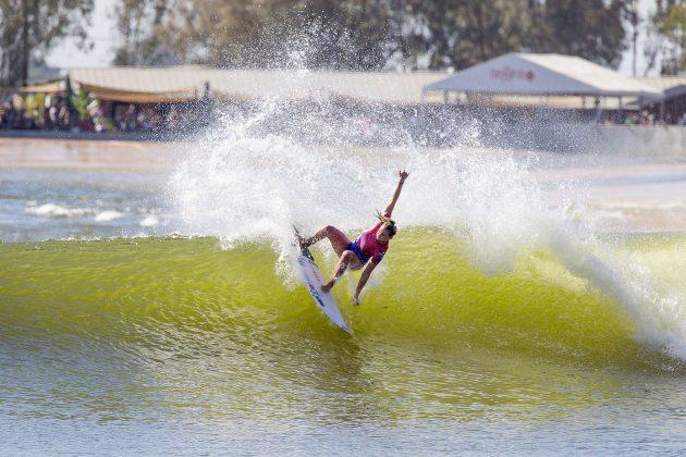 Lakey Peterson, Freshwater Pro 2019, Surf Ranch, Califórnia (EUA). Foto: WSL / Morris.