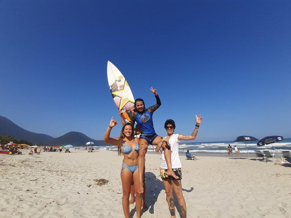 Luana Coutinho ganha viagem a Portugal com o título da Profissional Feminino.