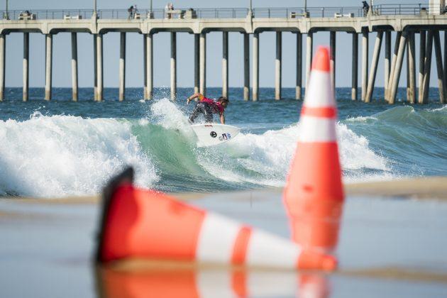 Liam Wilson, Vissla World Junior Championship 2019, Huntington Beach, Califórnia (EUA). Foto: ISA / Ben Reed.