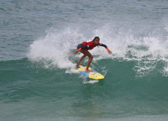 Aysha Ratto, Tríplice Coroa Saquarema de Surf 2019. Foto: Assessoria ASS.