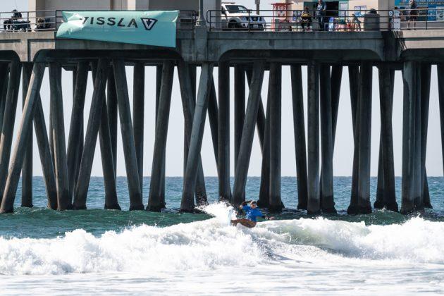 Isabela Saldanha, Vissla World Junior Championship 2019, Huntington Beach, Califórnia (EUA). Foto: ISA / Evans.