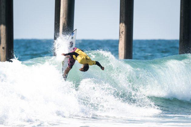 Kainan Meira, Vissla World Junior Championship 2019, Huntington Beach, Califórnia (EUA). Foto: ISA / Ben Reed.