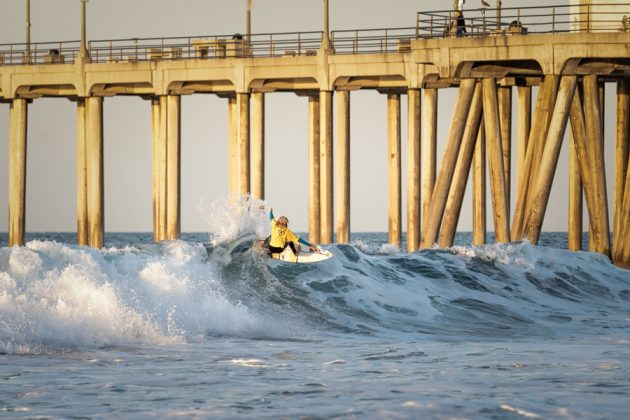 Yuri Barros, Vissla World Junior Championship 2019, Huntington Beach, Califórnia (EUA). Foto: ISA / Evans.