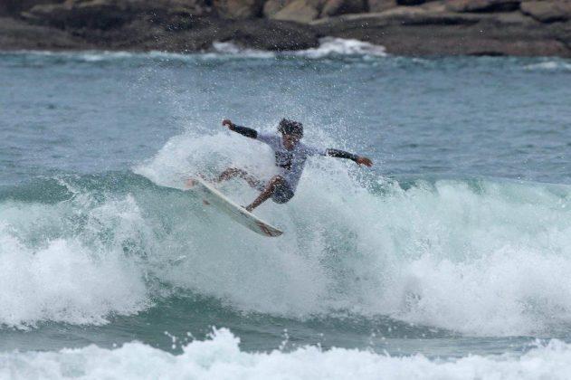 Cauã Gonçalves, Hang Loose Surf Attack 2019, Juquehy, São Sebastião (SP). Foto: Munir El Hage.