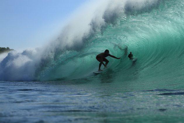 Desert Point, Lombok, Indonésia. Foto: Anderson Brasil.