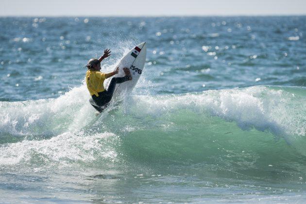 Nikolas Polischuk, Vissla World Junior Championship 2019, Huntington Beach, Califórnia (EUA). Foto: ISA / Ben Reed.