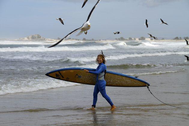 Raquel Heckert, Praia do Cardoso, Laguna (SC). Foto: Luis Reis.