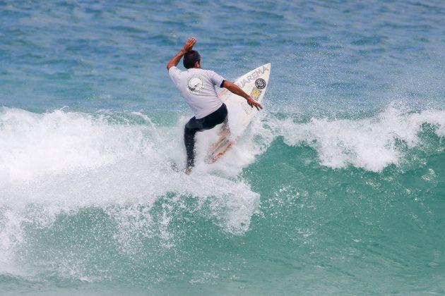 Milton Morbeck, Tríplice Coroa Saquarema de Surf 2019. Foto: Assessoria ASS.
