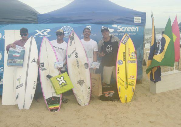 Pódio Open, Bakana Brava Beach, Canto do Morcego, Itajaí (SC). Foto: Basilio Ruy/P.P07.