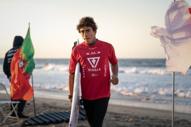 Joaquim Chaves, Vissla World Junior Championship 2019, Huntington Beach, Califórnia (EUA). Foto: ISA / Evans.