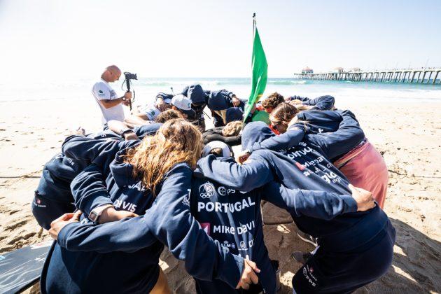 Vissla World Junior Championship 2019, Huntington Beach, Califórnia (EUA). Foto: ISA / Evans.