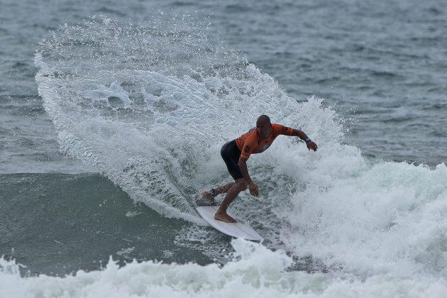 Pedro Oliveira, Surf Trip SP Contest 2019, praia do Tombo, Guarujá (SP). Foto: Munir El Hage.