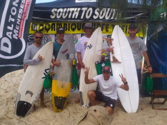 Pódio Master, Surfe Treino South to South 19, Moçambique, Florianópolis (SC). Foto: Marcelo Barbosa.
