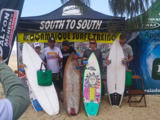 Pódio Open, Surfe Treino South to South 19, Moçambique, Florianópolis (SC). Foto: Marcelo Barbosa.