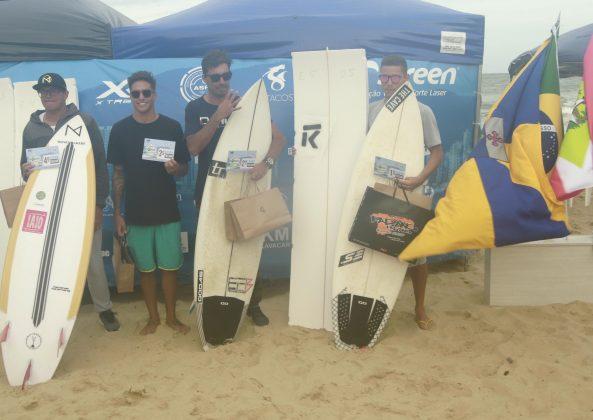 Pódio Free Surf, Bakana Brava Beach, Canto do Morcego, Itajaí (SC). Foto: Basilio Ruy/P.P07.