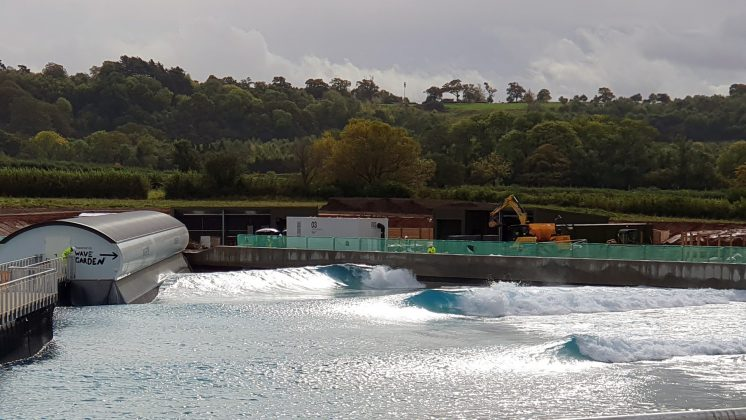 The Wave, Bristol, Inglaterra. Foto: Divulgação Wave Garden.