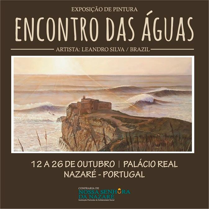"""""""Encontro das Águas"""" em cartaz non Palácio Real Nazaré."""