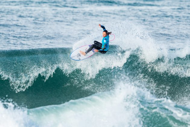 Keely Andrew, MEO Rip Curl Pro Portugal 2019, Supertubos, Peniche. Foto: WSL / Poullenot.