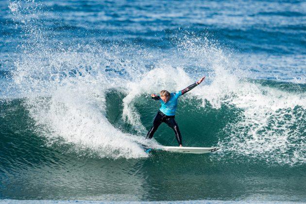 Macy Callaghan, MEO Rip Curl Pro Portugal 2019, Supertubos, Peniche. Foto: WSL / Poullenot.