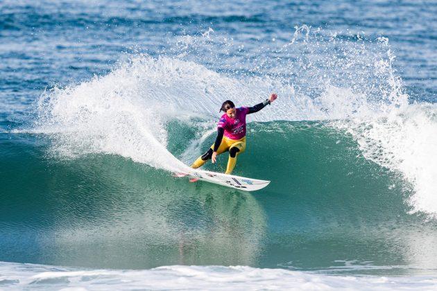 Sally Fitzgibbons, MEO Rip Curl Pro Portugal 2019, Supertubos, Peniche. Foto: WSL / Poullenot.