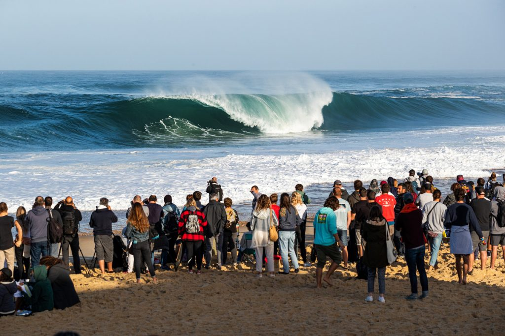 Hossegor e os beach breaks franceses da região estão de volta ao cenário competitivo.