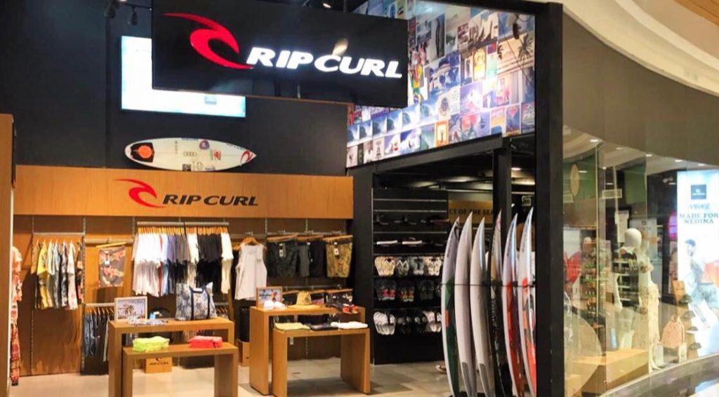 Loja Rip Curl Cabo Frio agora fica no Shopping Park Lagos, o principal na Região dos Lagos.
