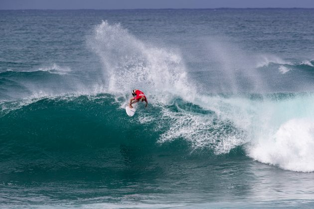 Adrian Buchan, Hawaiian Pro 2019, Haleiwa, North Shore de Oahu, Havaí. Foto: WSL / Heff.
