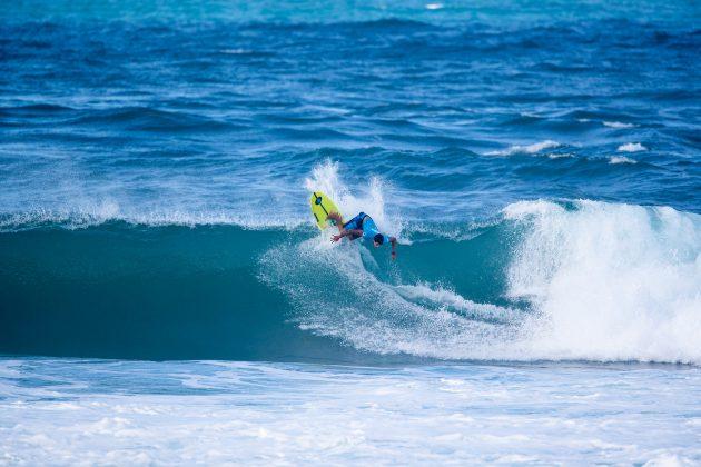 Alex Ribeiro, Hawaiian Pro 2019, Haleiwa, North Shore de Oahu, Havaí. Foto: WSL / Heff.