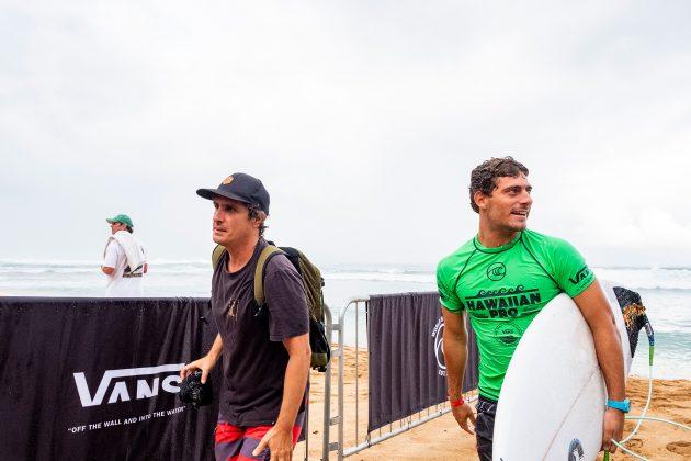 Alonso Correa, Hawaiian Pro 2019, Haleiwa, North Shore de Oahu, Havaí. Foto: WSL / Keoki.