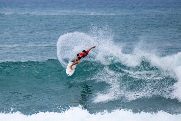 Alonso Correa, North Shore de Oahu, Havaí. Foto: WSL / Keoki.