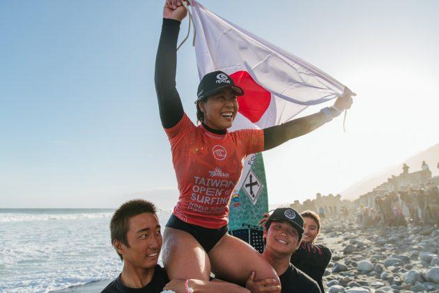 Amuro Tsuzuki, WSL Junior Championships 2019, Jinzun Harbour. Foto: WSL / Dunbar.