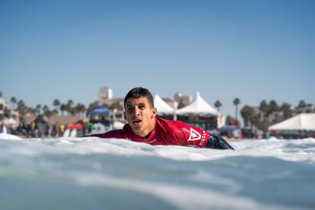 Caio Costa, Vissla World Junior Championship 2019, Huntington Beach, Califórnia (EUA). Foto: ISA / Sean Evans.