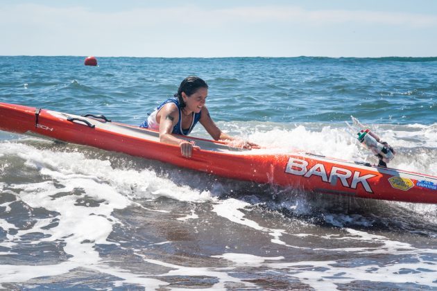 Sinara Pazos Britto, ISA SUP & Paddleboard 2019, El Sunzal, El Salvador. Foto: ISA / Evans.