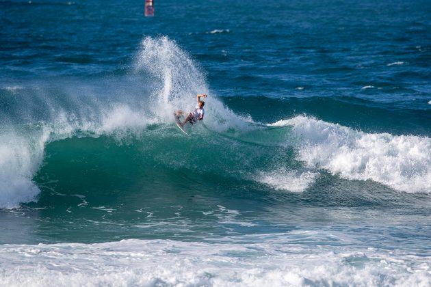 Beyrick De Vries, Hawaiian Pro 2019, Haleiwa, North Shore de Oahu, Havaí. Foto: WSL / Heff.