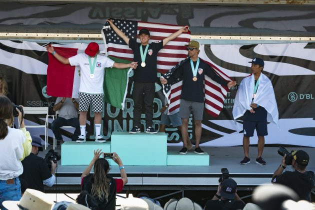 Sub 18 masculina, Vissla World Junior Championship 2019, Huntington Beach, Califórnia (EUA). Foto: ISA / Ben Reed.
