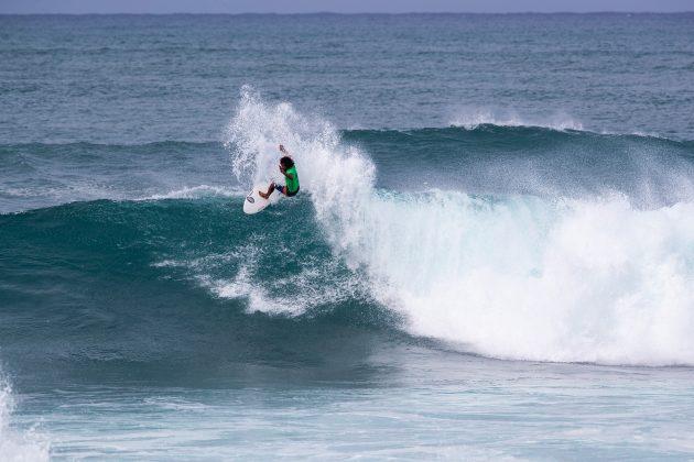 Carlos Munoz, Hawaiian Pro 2019, Haleiwa, North Shore de Oahu, Havaí. Foto: WSL / Heff.