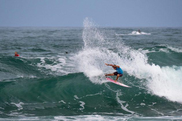 Charly Quivront, Hawaiian Pro 2019, Haleiwa, North Shore de Oahu, Havaí. Foto: WSL / Keoki.