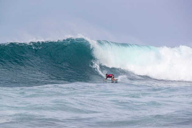 Conner Coffinn, Hawaiian Pro 2019, Haleiwa, North Shore de Oahu, Havaí. Foto: WSL / Heff.