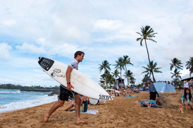 David Van Zyl, Hawaiian Pro 2019, Haleiwa, North Shore de Oahu, Havaí. Foto: WSL / Keoki.
