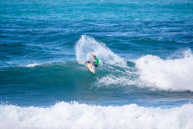 Dylan Lightfoot, Hawaiian Pro 2019, Haleiwa, North Shore de Oahu, Havaí. Foto: WSL / Heff.