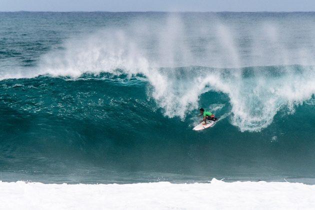 Eli Hanneman, Hawaiian Pro 2019, Haleiwa, North Shore de Oahu, Havaí. Foto: WSL / Keoki.