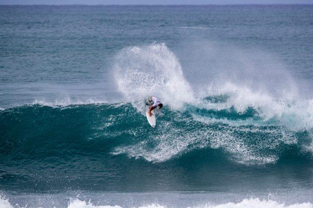 Evan Geiselman, Hawaiian Pro 2019, Haleiwa, North Shore de Oahu, Havaí. Foto: WSL / Heff.