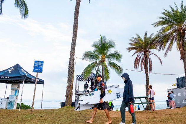 Ezekiel Lau, Hawaiian Pro 2019, Haleiwa, North Shore de Oahu, Havaí. Foto: WSL / Keoki.